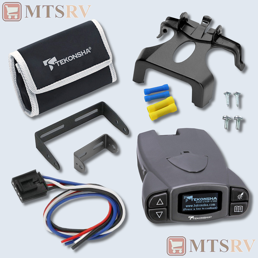 Tekonsha Voyager Electric Brake Controller Instructions